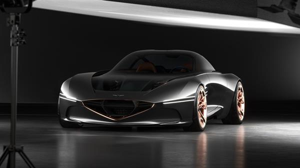 prototype car black